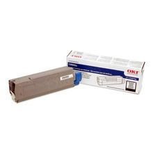 Okidata OEM Black 43487736 Toner Cartridge 6K Page Yield