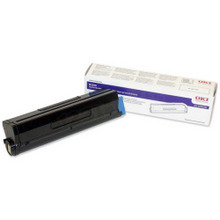 Original High Yield Black Laser Toner Cartridge for Okidata 43502001 7K Page Yield