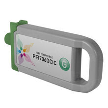 Compatible PFI-706G Canon (6688B001AA) 700ml Green Ink Cartridges