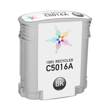 Remanufactured Replacement Ink Cartridge for Hewlett Packard C5016A (HP 84) Black