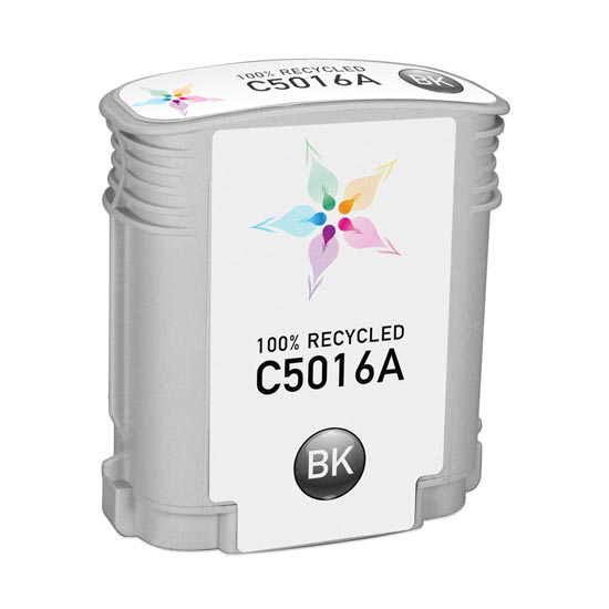 Remanufactured Replacement Black Ink for HP 84