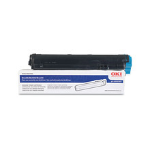 Original Black Type 9 Laser Toner Cartridge for Okidata 43502301 3K Page Yield
