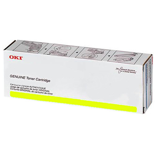 OEM Okidata 44973565 Yellow Toner Cartridge