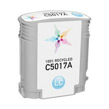 Remanufactured Replacement Ink Cartridge for Hewlett Packard C5017A (HP 84) Light Cyan