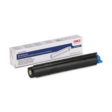 Okidata OEM Black 43640301 Toner Cartridge 2K Page Yield