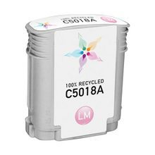 Remanufactured Replacement Ink Cartridge for Hewlett Packard C5018A (HP 84) Light Magenta