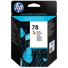 Original HP 78 Tri-Color Ink Cartridge in Retail Packaging (C6578D)