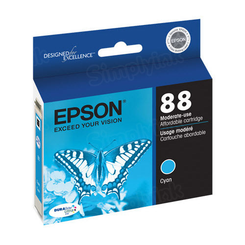 Epson 88 Cyan OEM Ink Cartridge (T088220)