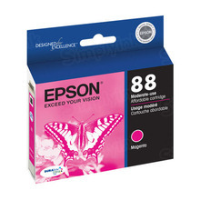 Original Epson 88 Magenta Inkjet Cartridge (T088320), Moderate-Capacity