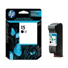 Original HP 15 Black Ink Cartridge in Retail Packaging (C6615DN)