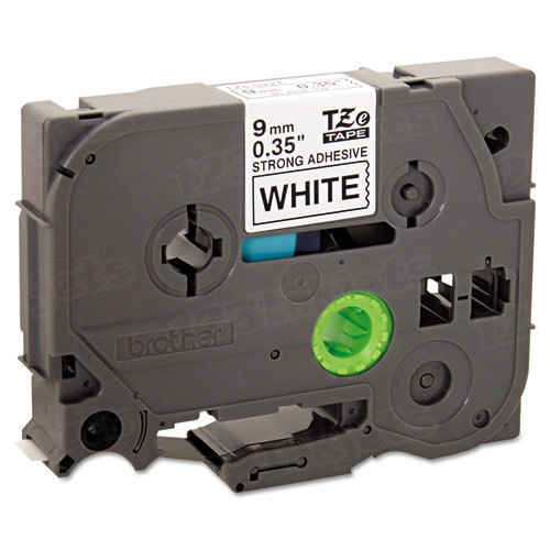 Brother TZe-S221 3/8 Black on White OEM Tape