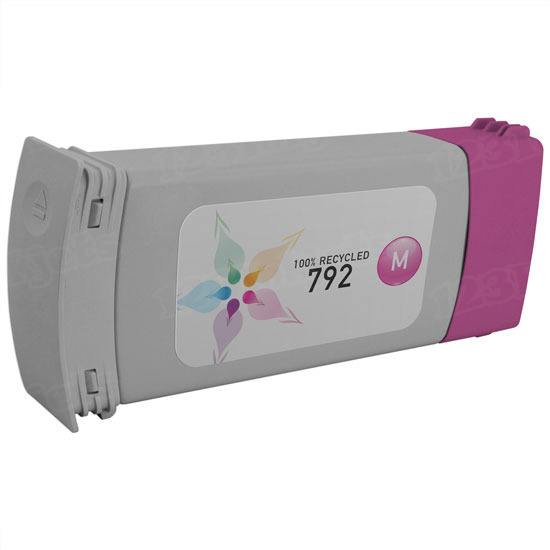 Remanufactured Replacement Magenta Ink for HP 792