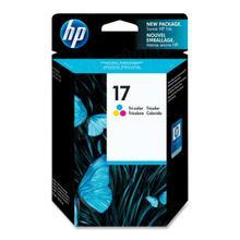 Original HP 17 Tri-Color Ink Cartridge in Retail Packaging (C6625AN)