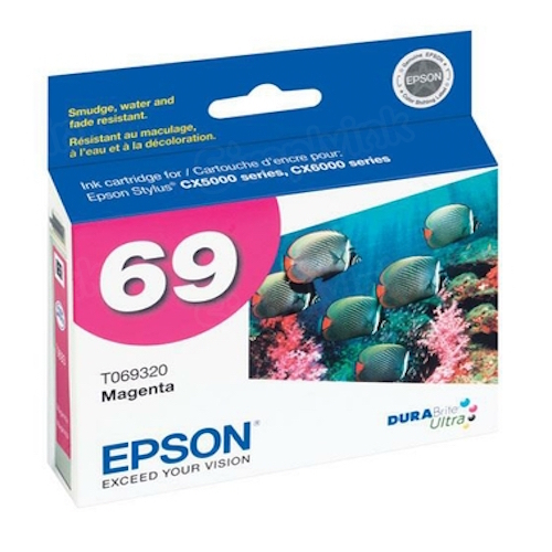 Epson 69 Magenta OEM Ink Cartridge (T069320)
