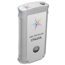 Remanufactured Replacement Ink Cartridge for Hewlett Packard C9449A (HP 70) Photo Black