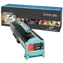 Lexmark OEM High Yield Black Laser Toner Cartridge, X860H21G (X860/X862/X864 Series) (3.5K Page Yield)
