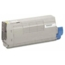 OEM Okidata 43866101 Yellow Toner Cartridge
