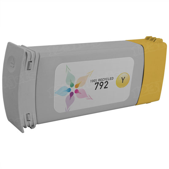 Remanufactured Replacement Yellow Ink for HP 792
