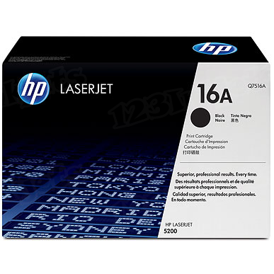 Original HP Q7516A (16A) Black Toner