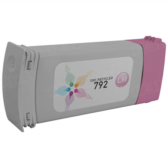 Remanufactured Replacement Light Magenta Ink for HP 792