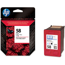 Original HP 58 Photo Color Ink Cartridge in Retail Packaging (C6658AN)