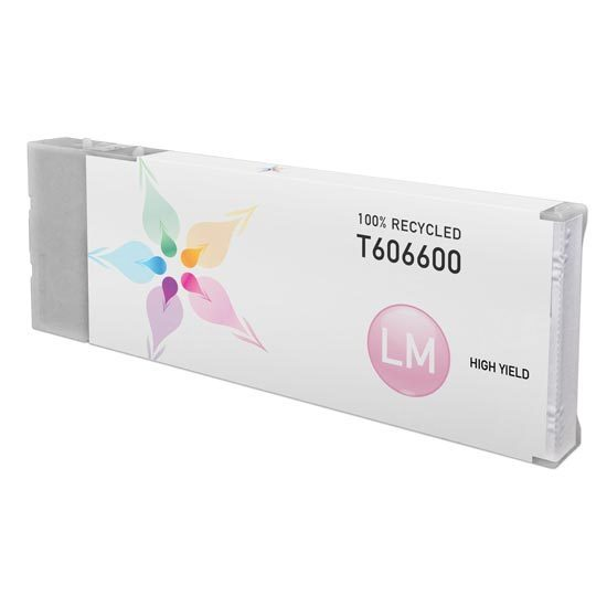 Epson Remanufactured T606600 HY Light Magenta Inkjet Cartridge