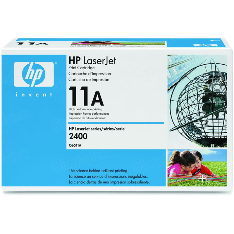 Original HP Q6511A (11A) Black Toner