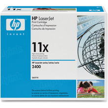 HP 11X (Q6511X) Black High Yield Original Toner Cartridge in Retail Packaging