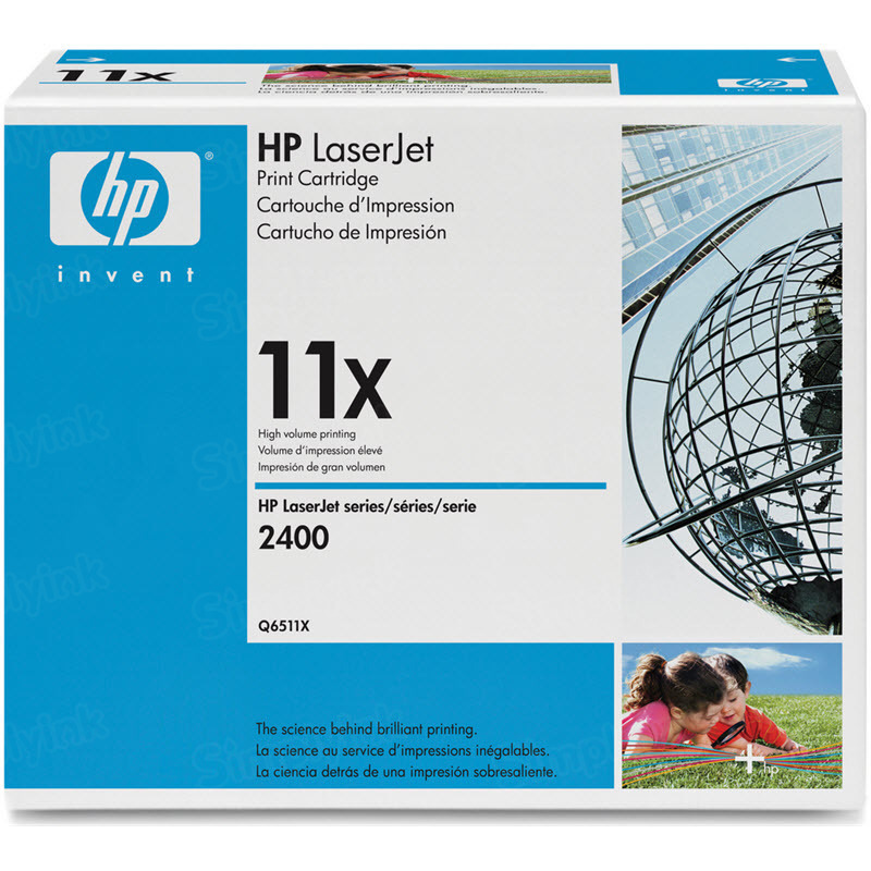 Original HP Q6511X (11X) HY Black Toner