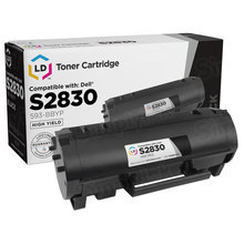 Compatible GGCTW High Yield Black Toner (593-BBYP) for Dell S2830dn - 8,500 Page Yield
