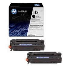HP 11X (Q6511XD) Black High Yield Original Toner Cartridge in Retail Packaging