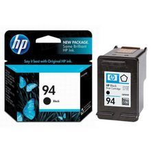 Original HP 94 Black Ink Cartridge in Retail Packaging (C8765WN)