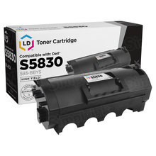 Compatible 2JX96 High Yield Black Toner (593-BBYS) for Dell S5830dn - 25,000 Page Yield
