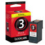 Lexmark 3 Black OEM Ink Cartridge (18C1530)