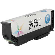 Remanufactured Replacement for Epson T277XL220 (277XL) High-Capacity Cyan Ink Cartridge