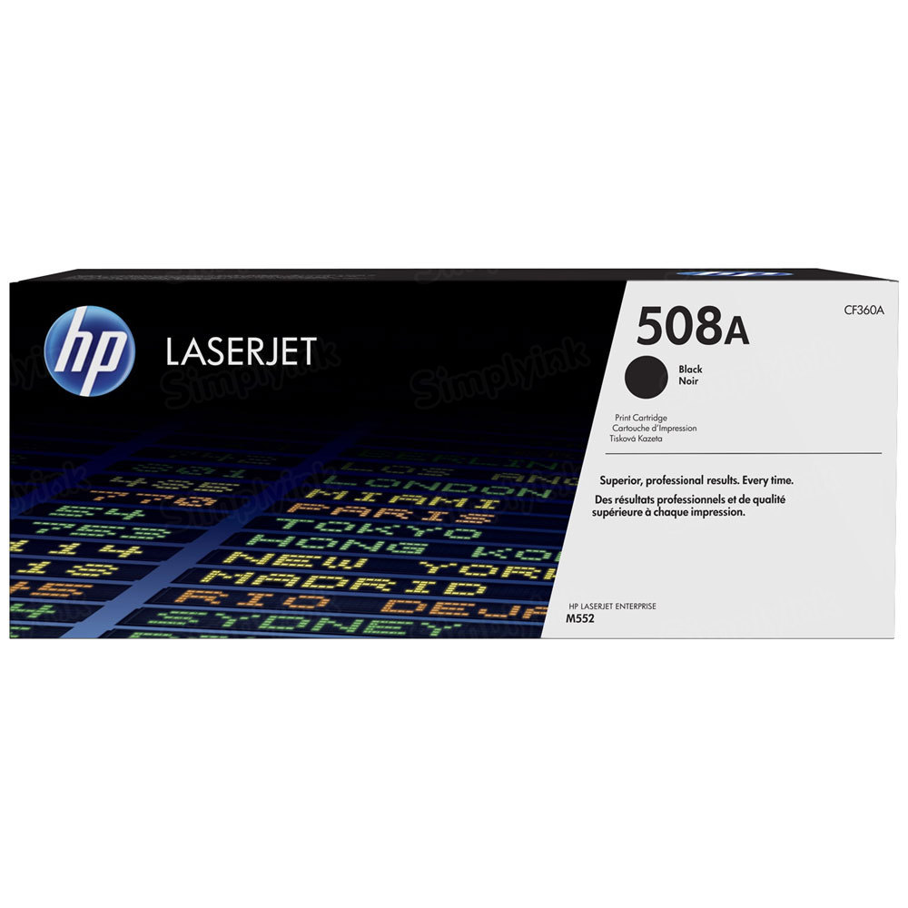 OEM HP 508A Black Toner Cartridge