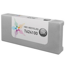 Remanufactured Replacement for Epson T624100 (T6241) 950ml Black Ink Cartridges
