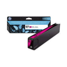 Original HP 971 Magenta Ink Cartridge in Retail Packaging (CN623AM)