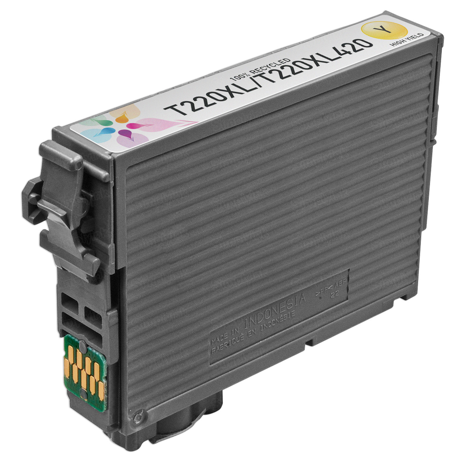 Epson Yellow Remanufactured 220XL Ink Cartridge