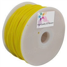 Yellow 3D Printer Filament 1.75mm 1kg Nylon