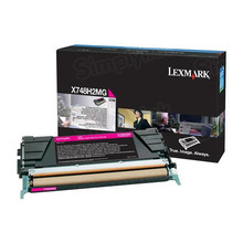 Lexmark OEM High Yield Magenta Laser Toner Cartridge, X748H2MG (X748DTE / X748DE) (10,000 Page Yield)u00a0