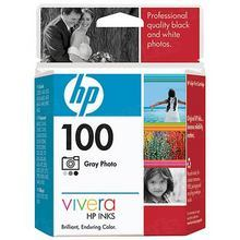 Original HP 100 Photo Gray Ink Cartridge in Retail Packaging (C9368AN)