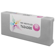 Remanufactured Replacement for Epson T624300 (T6243) 950ml Magenta Ink Cartridges