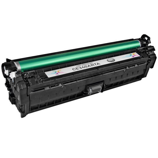 Remanufactured Replacement Black Laser Toner for HP 651A