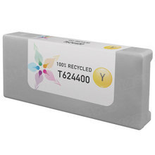 Remanufactured Replacement for Epson T624400 (T6244) 950ml Yellow Ink Cartridges