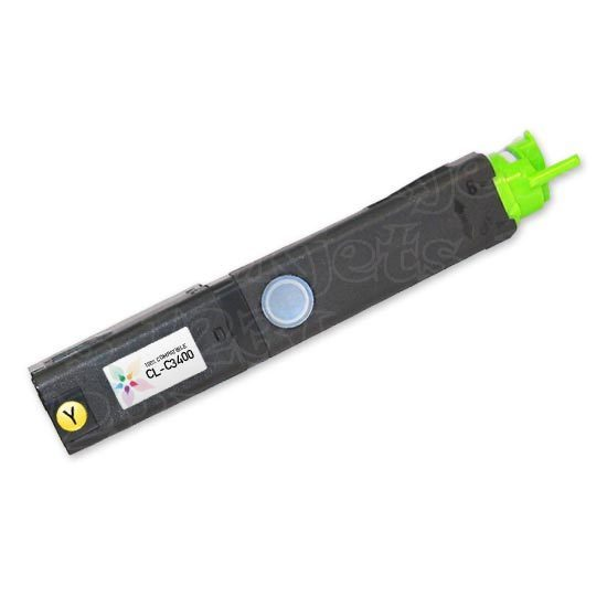 Okidata Compatible 43459301 HY Yellow Toner for C3400, C3530