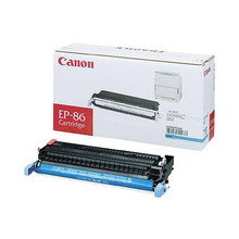 Canon EP-86 (13,000 Pages) High Yield Cyan Laser Toner Cartridge - OEM 6829A004AA