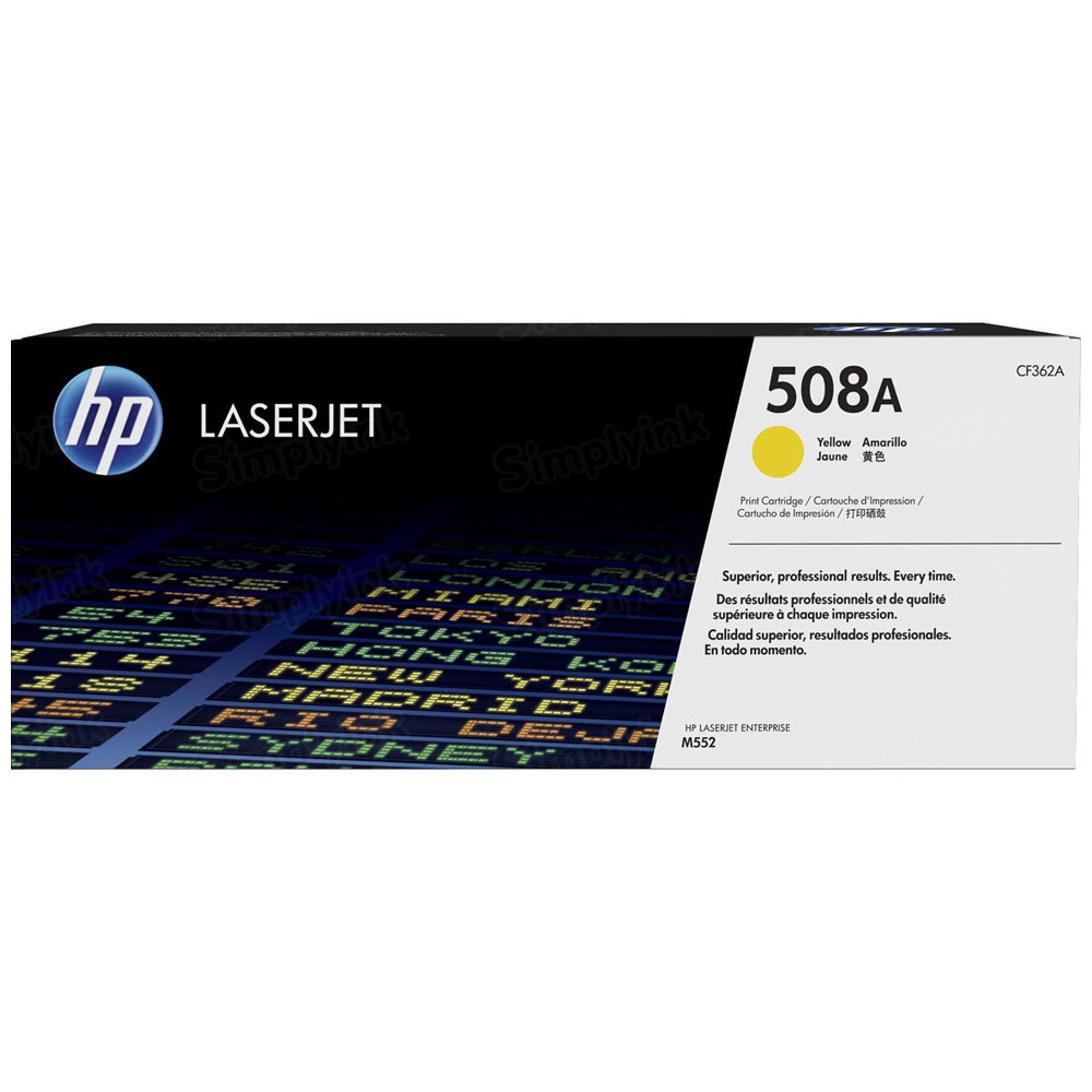 OEM HP 508A Yellow Toner Cartridge