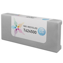 Remanufactured Replacement for Epson T624500 (T6245) 950ml Light Cyan Ink Cartridges