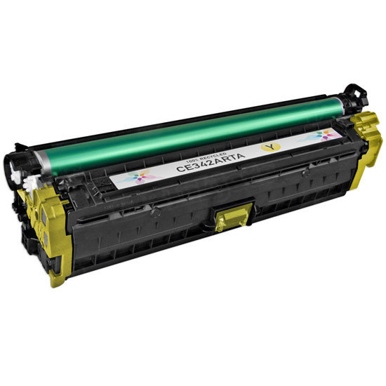 Remanufactured Replacement Yellow Laser Toner for HP 651A